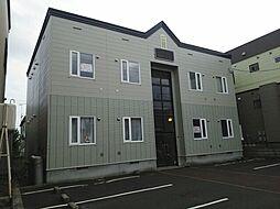 北海道札幌市東区伏古一条5丁目の賃貸アパートの外観