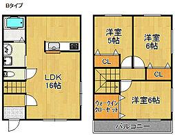 Heights Aoi[1階]の間取り