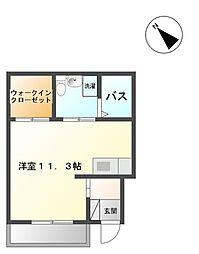 サンハイツ 奈良[103号室]の間取り