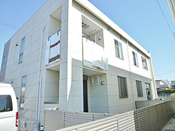 静岡県磐田市安久路2丁目の賃貸アパートの外観