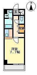 香川県高松市今里町の賃貸マンションの間取り