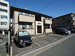 静岡県浜松市中区中央2丁目の賃貸アパートの外観