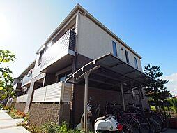 大阪府堺市東区菩提町5丁の賃貸アパートの外観