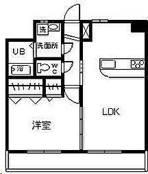 サンフォレスト柳丸[2階]の間取り
