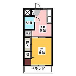 スプレンダー[2階]の間取り