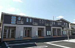 広島県福山市手城町4の賃貸アパートの外観