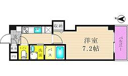 リバーライズ東小橋II[202号室]の間取り