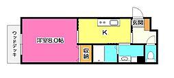 仮)小手指アパート[1階]の間取り
