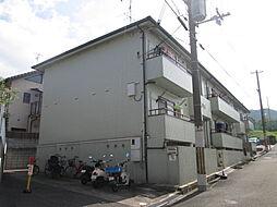 大阪府四條畷市岡山東5丁目の賃貸アパートの外観