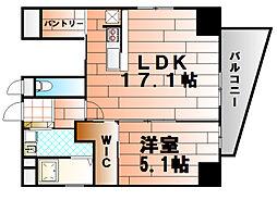 WIN小倉[402号室]の間取り