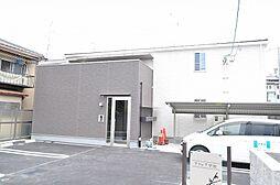 京都府宇治市広野町小根尾の賃貸アパートの外観
