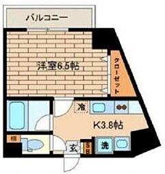 アルビオンクレスト[2階]の間取り