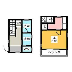 [テラスハウス] 茨城県水戸市三の丸3丁目 の賃貸【/】の間取り