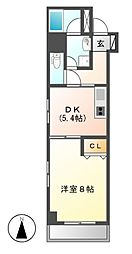 meLiV鶴舞(旧アーデン鶴舞)[4階]の間取り