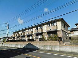 福岡県中間市扇ヶ浦3丁目の賃貸アパートの外観