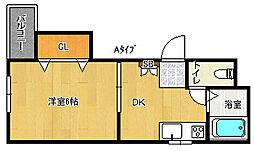 メゾン小松[2階]の間取り