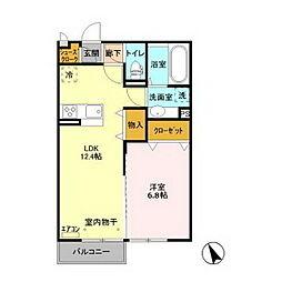 (仮称)D-room平須町[2階]の間取り