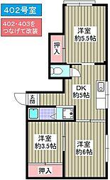 石川屋泉尾ビル[4階]の間取り