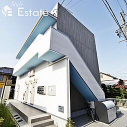 愛知県名古屋市守山区川西2丁目の賃貸アパートの外観