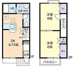 RURAL YAMAROKU[2階]の間取り