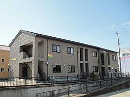 石川県白山市田中町の賃貸アパートの外観