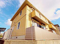 広島県安芸郡熊野町呉地1の賃貸アパートの外観