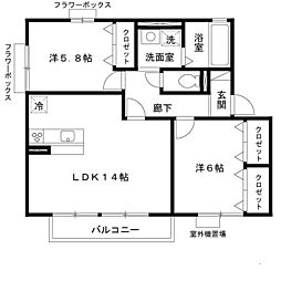 WoHNuNG 202[2階]の間取り