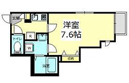 神奈川県横浜市都筑区佐江戸町の賃貸マンションの間取り