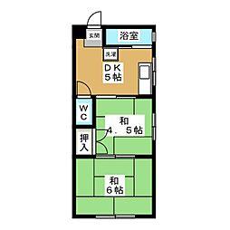 第一セイワビル[2階]の間取り