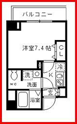 東京都墨田区立川3丁目の賃貸マンションの間取り