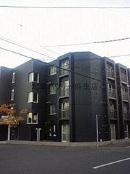 北海道札幌市北区北三十七条西7丁目の賃貸アパートの外観