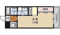 ヴァンヴェール35[303号室号室]の間取り
