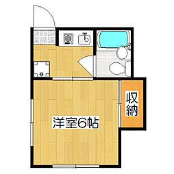 みつまるマンション[2階]の間取り