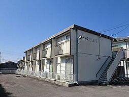 コーポ上野D[1階]の外観