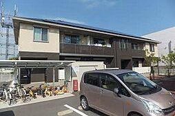 徳島県板野郡北島町江尻字小分の賃貸アパートの外観