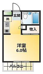 ダンディリオン松戸[1階]の間取り