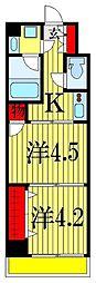 日神デュオステージ船橋[2階]の間取り