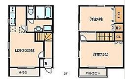 [テラスハウス] 静岡県浜松市西区入野町 の賃貸【静岡県 / 浜松市西区】の間取り