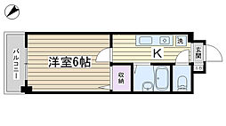 東京都豊島区巣鴨2丁目の賃貸マンションの間取り
