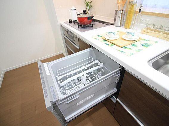 食器洗乾燥機付...