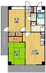 メゾンボヌール[5階]の間取り