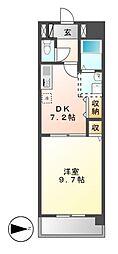 Grance Kotobuki[10階]の間取り