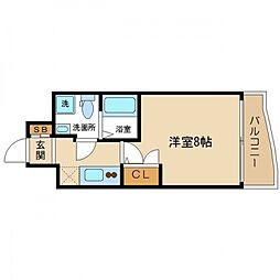 SERENiTE高井田(セレニテ高井田)[6階]の間取り