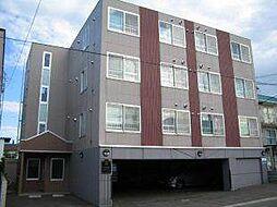 北海道札幌市豊平区月寒東二条6丁目の賃貸マンションの外観