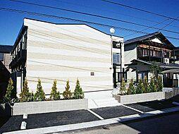 埼玉県さいたま市見沼区深作3の賃貸アパートの外観