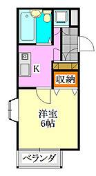 アーバン駿河台[3階]の間取り