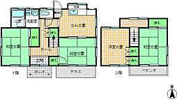 [一戸建] 愛媛県松山市森松町 の賃貸【愛媛県/松山市】の間取り