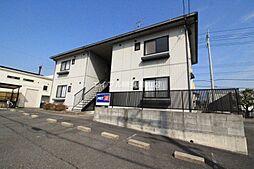 岡山県赤磐市桜が丘西6丁目の賃貸アパートの外観