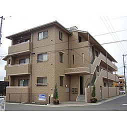 岡山県岡山市北区中仙道の賃貸マンションの外観