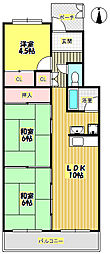 T・メゾンシャルマントIII[3階]の間取り